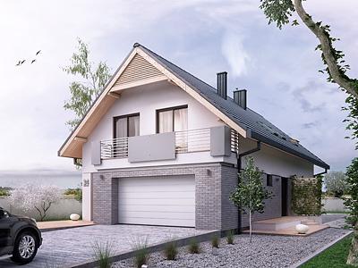 projekt garażu